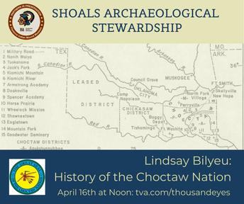 Shoals Archaeological Stewardship Virtual Speaker Series: Lindsay Bilyeu