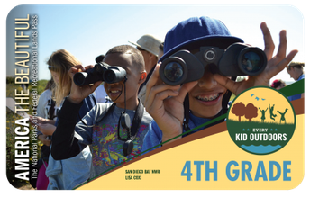 4th Graders  National Park Pass