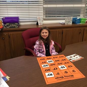 Sophia Schumacker as 1st grade teacher