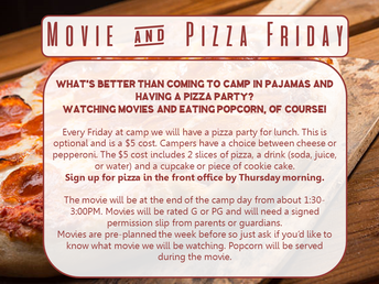 Movie and Pizza Friday