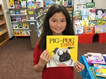 Olivia's book choice.