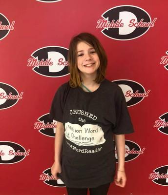 Danica Stewart, 6th grade