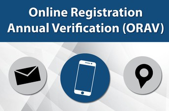 REGISTRATION AND ANNUAL VERIFICATION (MUST BE DONE YEARLY)