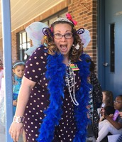Mrs. Williams as Fancy Nancy!