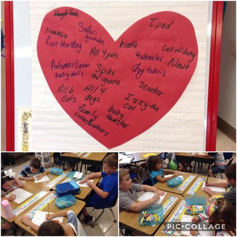 Writing from the Heart in 1st Grade