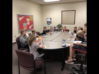 August Attendance Lunch Bunch!