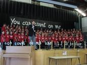 Congratulations to Mr. Pruitt and the Third Grade Chorus!