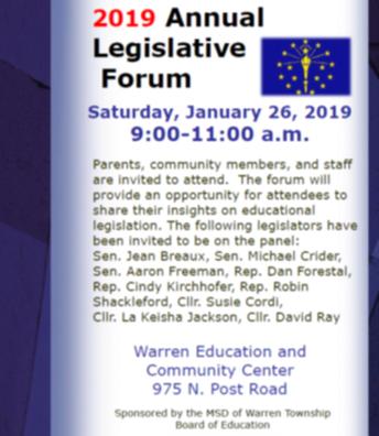 2019 Annual Legislative Forum