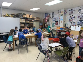 Art with Mrs. Brown
