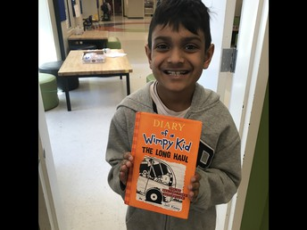 Congrats Neel On Finishing Your First Chapter Book!!