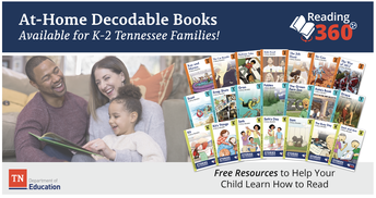 Tennessee Department of Education Reading 360:  Free Books for K-2 Families