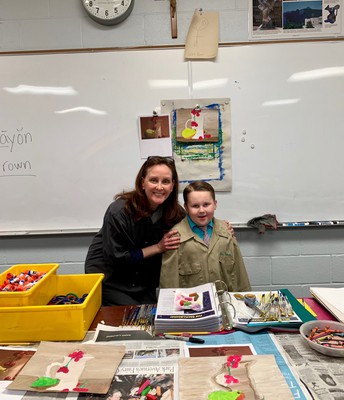 Art Teacher for the Day: Anson Geisel