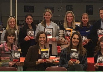 Thompson Teachers Model What It Means to be a Life-Long Reader...