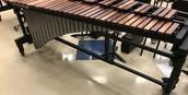 4.3 octave rosewood marimba