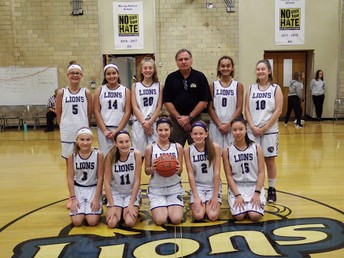 7th Grade Girls Basketball Team