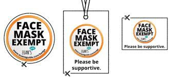 Face Covering Exemption Request
