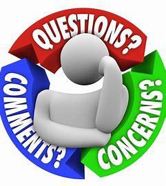 CLASSROOM CONCERNS OR QUESTIONS?