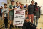 2017-2018 Grade 7 Boys Runner Up