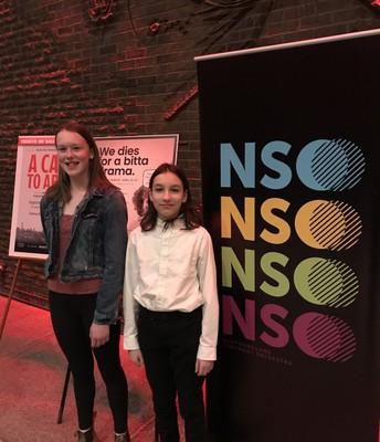 MDJH Youth Ambassadors at the NYSO