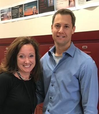 Teacher Spotlight--Keirsten and Wes