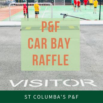 P&F Visitors Car Bay Raffle Winner