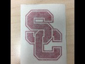 SC Car Decal