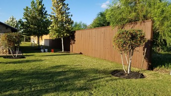 New Fence Stain