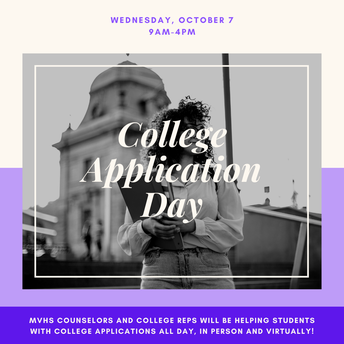 College Application Day - October 7th