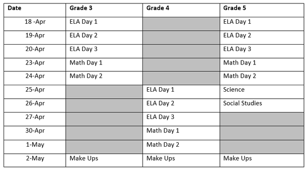 the weekly scoop 3 26 3 30 rh marietta city org 5th Grade Math Study 5th Grade Math Study Guide