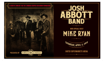 AN EVENING WITH JOSH ABBOTT BAND, WITH SPECIAL GUEST MIKE RYAN