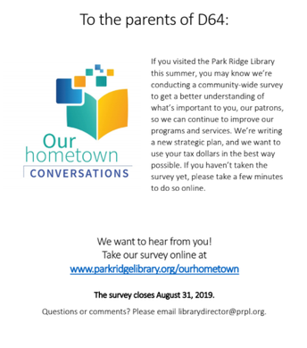 Take a Survey, We want to hear from you!