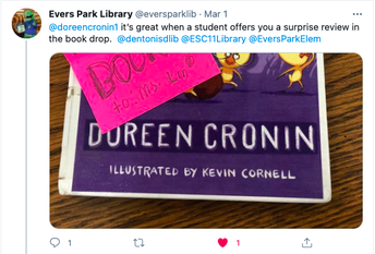 Denton ISD - Evers Park Elementary Library