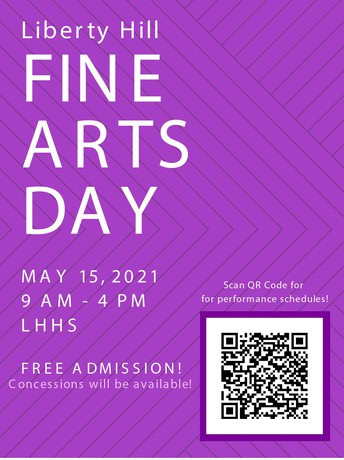 LHISD Art Students and Fine Arts Day