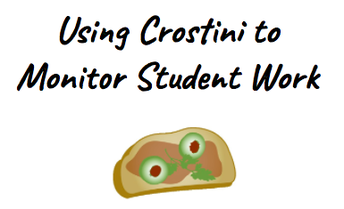 Online Module: Using Crostini to Monitor Student Work