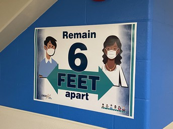 Remain 6' Apart