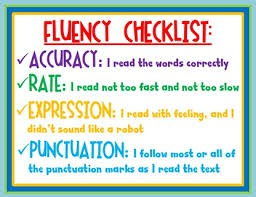 What does fluent reading look like?