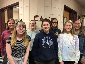 Choir students selected to perform in ACDA honor choirs