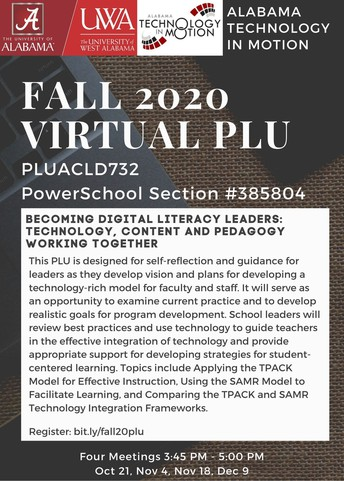 Alabama Technology in Motion: Virtual ACLD-PLU opportunity