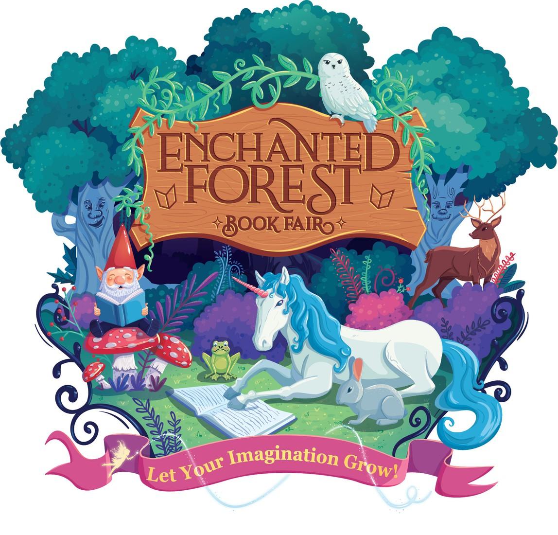 Enchanted Forest Book Fair Logo