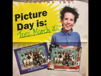 Class and Individual Pictures on March 20