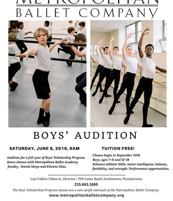 Metropolitan Ballet Company | Boys' Audition