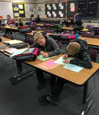 8th grade Math students