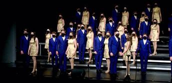 Show Choirs Dazzle at DMC Comp