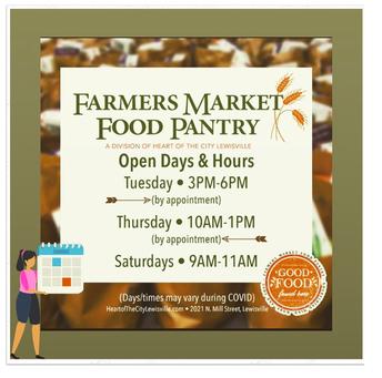 Food Pantry Information