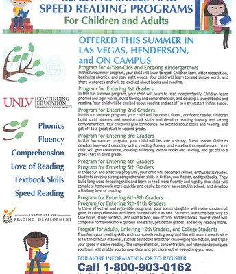 Reading Skills and Speed Reading Programs for Children and Adults