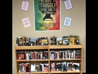 Highlighted book selection for Black History Month