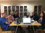 CDS Teachers Begin Planning Library Night!