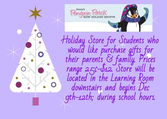 Penguin Patch Holiday Store Flyer