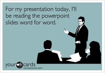 How are presentations looking in your class?