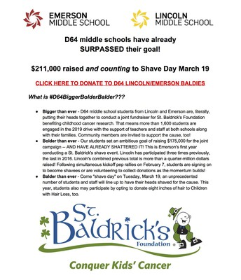 St. Baldrick's Flyer